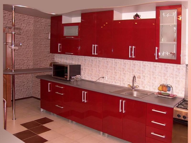 Оптимальное расположение кухонной мебели