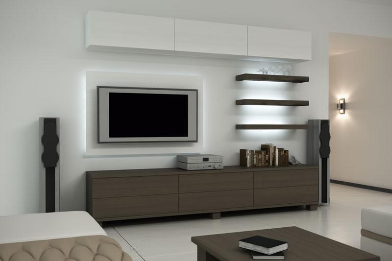 Выбираем мебель для телевизора и аппаратуры