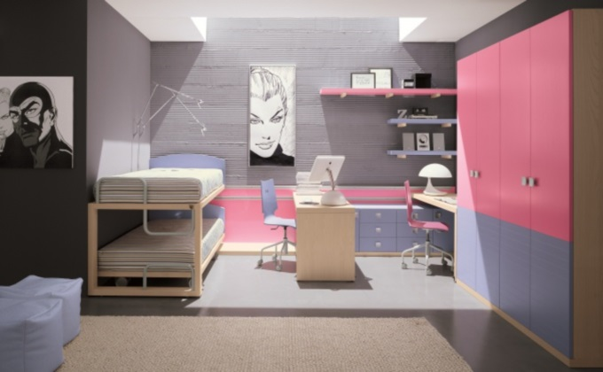 Цветовое многообразие в стиле мебели