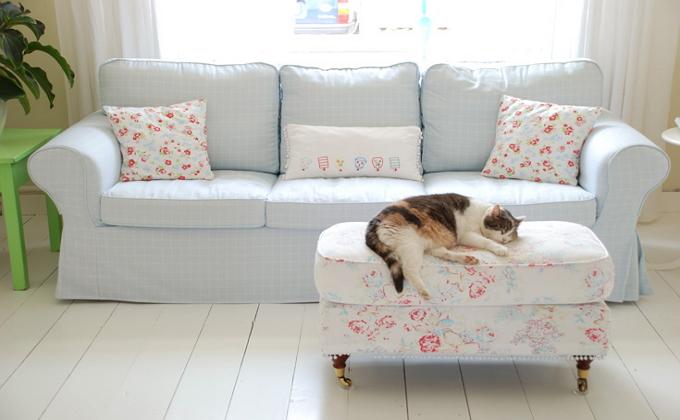 Преимущества чехлов для мягкой мебели
